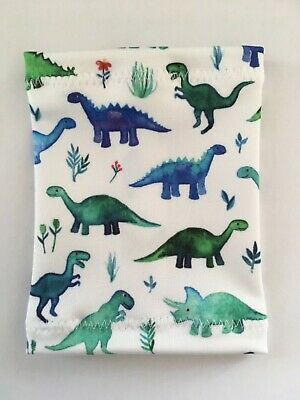 Lycra PICC Line or Freestyle Libre Cover - Dinosaurs