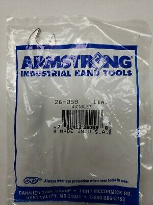 Vintage. N.O.S. Armstrong USA Armaloy 26-058 1/2, 7/16 Open End Wrench