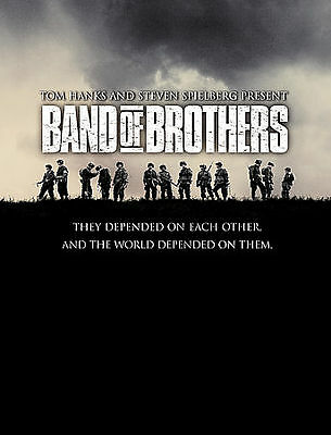 BAND OF BROTHERS DVD BOX SET Metal Case  6-Disc Set COMPLETE SERIES