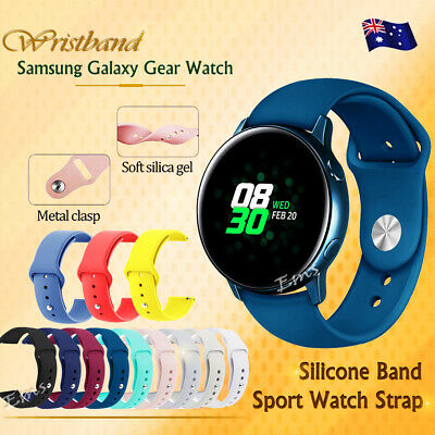 Replacement Silicone Sport Wrist Band For Samsung Galaxy Watch Active Active 2