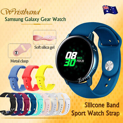 Replacement Silicone Sport Wrist Band Strap Samsung Galaxy Watch Active Active 2