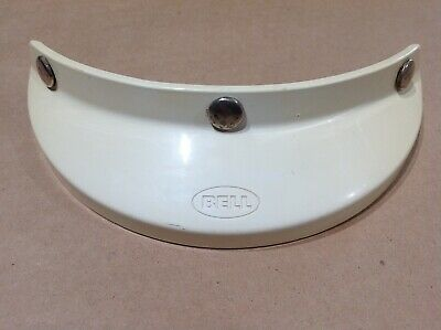 Vintage BELL VISOR 3 Snap for Motorcycle Helmet Model 520 Moto RT Magnum TX 500