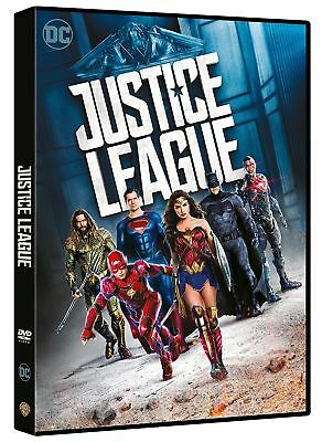 DVD NUOVO SIGILLATO film JUSTICE LEAGUE marvel  Versione italiana 5 supereroi to