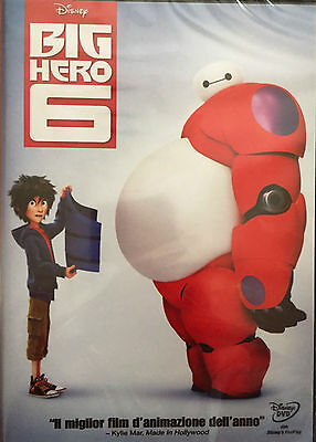 cartoon DVD BIG HERO 6  W.DISNEY EDIZIONE SPECIALE NUOVO SIGILLATO ver italia