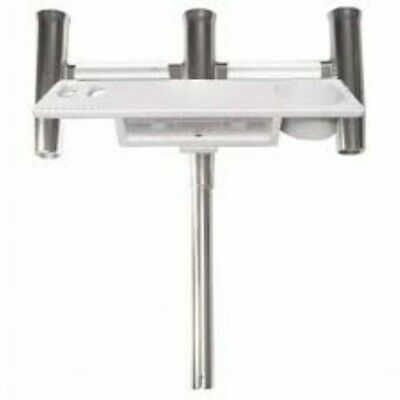 Taco Marine F31-0780BXY-1 Trident Rod Holder Cluster With Tool Caddy