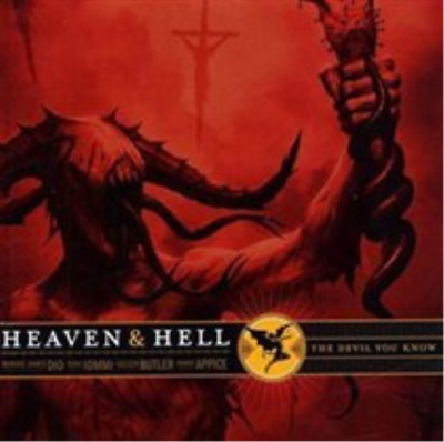 Heaven & Hell-The Devil You Know (UK IMPORT) CD NEW