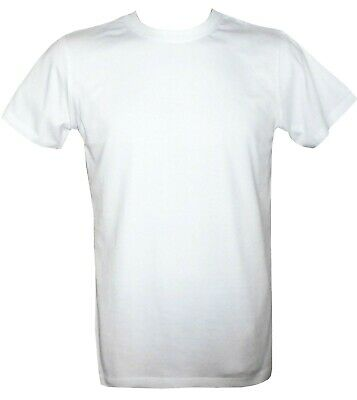 WHITE T-Shirt - Pack of TWO Lovely soft cotton - Fast delivery