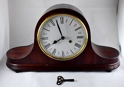 NAPOLEON HAT MANTEL CLOCK c1900