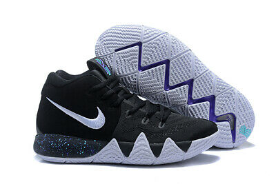 251875921074 NIKE KYRIE IRVING 4 TB Oreo Basketball Shoes Uncle Drew AV2296-001 ...
