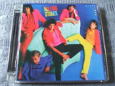 The Rolling Stones Dirty Work 2009 Polydor Super Jewel Case Remaster CD EX+/NM