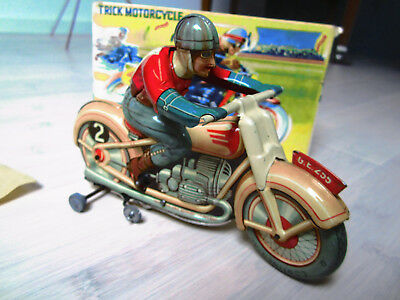 "Technofix Motorrad ""Trick Motorcycle"" (**TOP**) incl. Originalschachtel US-Zone"