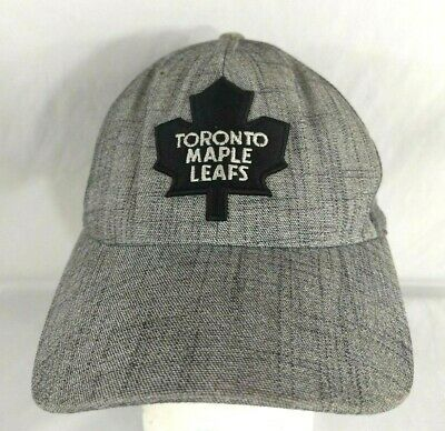 2a82e26b6667a1 TORONTO Maple Leafs Hat Cap by Old Time Hockey Grey Flex Fit Mesh One Size  Fit