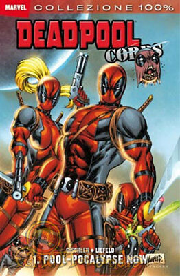 100% Marvel Deadpool Corps Complete Series 1-2-preludio (3 Books)