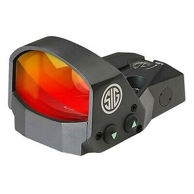 Sig Sauer SOR11000 Graphite Romeo1 Reflex 1x30 Red Dot Sight System For Pistol
