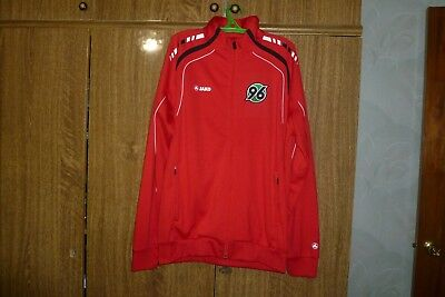 Hannover 96 Jako Football Training Jacket Zip 2012 Soccer Germany Size S/M