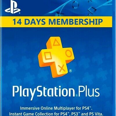 PSN PLUS 14 DAYS TRIAL + PS NOW 7DAYS - PS4 - PS3 - PS Vita