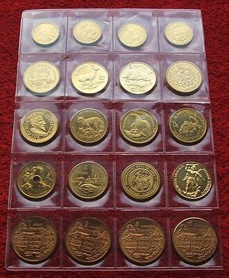 Poland Set Of Substitute Coins !! 20 Pieces !! Super Lot 20 Pcs Kpl Blister