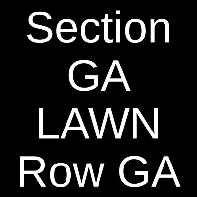 4 Tickets Rebelution 6/28/19 Cuthbert Amphitheater Eugene, OR