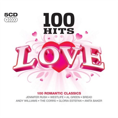 Various Artists-100 Hits - Love (UK IMPORT) CD NEW