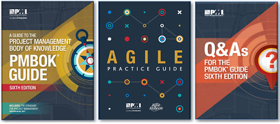 PMI PMBOK PDF 6th Edition + Agile Practice + Q&A + Formulae + Personalized Notes
