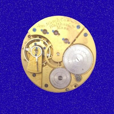 Antique Waltham Jewel Keyless 15 jewel 16S Pocket Watch Movement, 1900