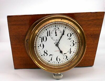 Dashboard clock in original housing circa 1920 recently serviced