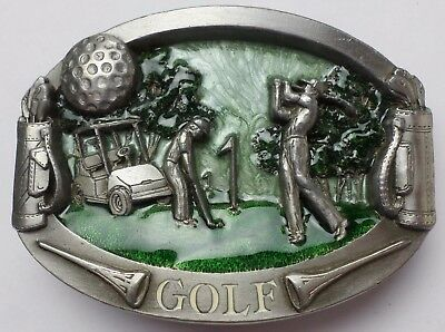 1980 Golf BA-196 Buckles Of America Belt Buckle Master Piece Collection #3232