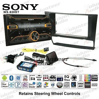 Sony WX-920BT Double Din CD Player Car Radio Install Mount Kit Bluetooth