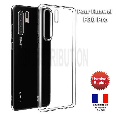 COQUE HUAWEI P30 Pro GEL SILICONE TRANSPARENT HOUSE P30 PRO