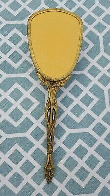 "Antique 11"" Brass Hair Brush"