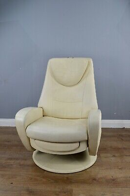 De Sede DS220  leather swivel chair