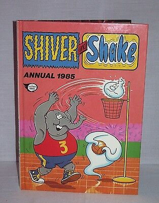 """Vintage Comic Book """"Shiver And Shake Annual 1985"""" – 32 Years Old!!!"""
