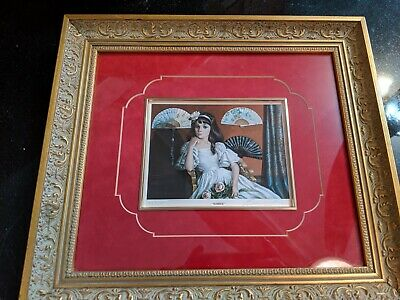 Beautiful Antique Victorian Style Bannister Print Numbered