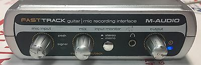 M-Audio Fast Track USB Guitar/Mic Recording Interface
