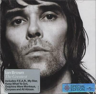 Ian Brown CD album (CDLP) The Greatest UK 987287-4 POLYDOR 2005