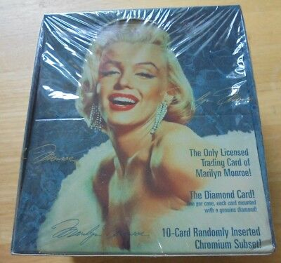 MARILYN MONROE 1993 SPORTS TIME Unopened Card Box Factory Sealed 36 Packs NEW