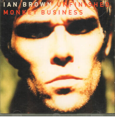 Ian Brown Unfinished Monkey Business UK CD album (CDLP) 539565-2 POLYDOR 1997