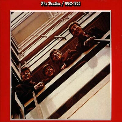 Beatles 1962-1966 [The Red Album] UK 2 CD album (Double CD) CDPCSP717 EMI 1993