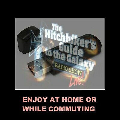 The Hitchhiker's Guide To The Galaxy. All 12 Radio Shows For Your Car Or Home!
