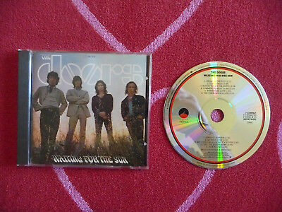 DOORS Waiting For The Sun CD Elektra 1968/1985 First Germany Press Mirror Center