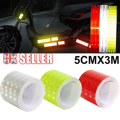 Self Adhesive Stickers High Reflective Tape Safety Vinyl luminous Intensity