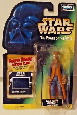 Power of the Force Loose 100% Complete Star Wars SAELT-MARAE YAK FACE