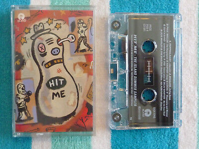 Various HIT ME THE ISLAND SUMMER SAMPLER Cassette Tape PROMO 1995 Portishead Orb