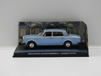 "1:43 Rolls-Royce Silver Shadow ll - James Bond ""Licence To Kill"" Universal Hobbi"