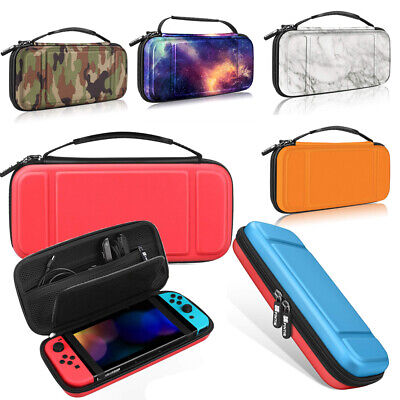 For Nintendo Switch Carrying Case Hard Shell Cover Pouch w 10 Game Card Slots