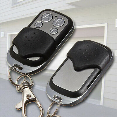 Universal Wireless Garage Door Remote Control 4 Key Fob 433MHz Gate Rolling Code