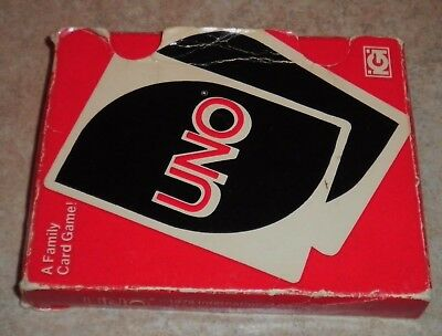 Vintage 1978 UNO Card Game Complete w/Instructions