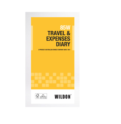 Vehicle Travel & Expense Diary Wildon 85W