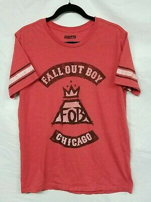 Authentic FALL OUT BOY Chicago Slim-Fit T-Shirt S M L XL NEW