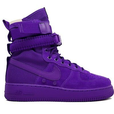 NIKE SF AF1 Air Force 1 One High Mens Size 11.5 Court Purple